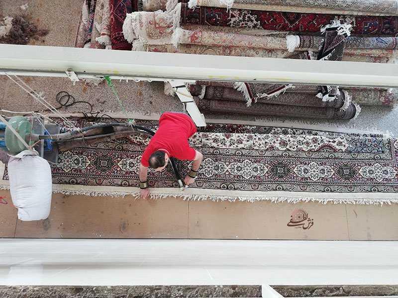 قالیشویی از نگاه نزدیک