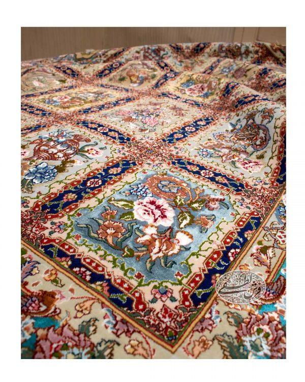 قالیچه ۳متری نقشه گلستان نامی
